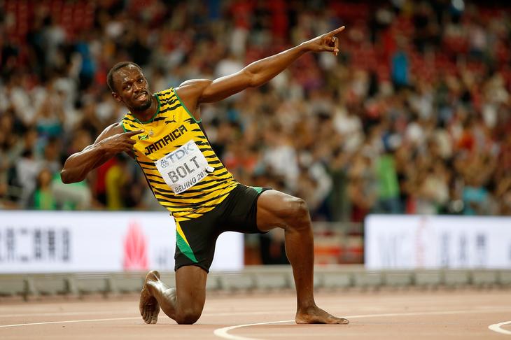 Vezi ce nebunie a mai facut marele campion, Usain Bolt