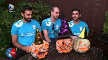 Concurs cu dovleci de Halloween la CSM Bucuresti