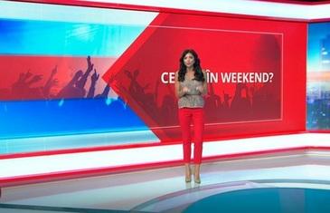"""Ilinca Obădescu vă prezintă cele mai bune idei pentru un weekend pe cinste. Aflaţi toate detaliile în rubrica """"Ce faci in weekend?"""""""