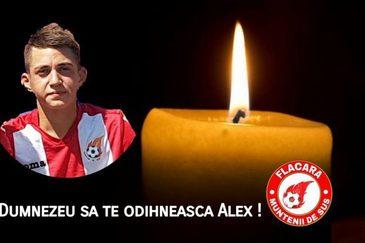 """Alex Stefan, tanarul fotbalist mort in urma unui atac cerebral, si-a presimtit moartea: """"La inmormantarea mea vreau sa beti. O sa-mi fie dor de anturajele voastre"""""""