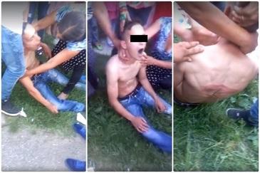 """Imagini cu un puternic impact emotional! Tanar, snopit in bataie de politisti: """"Acest copil, dupa bataie, a ramas in coma doua ore"""""""