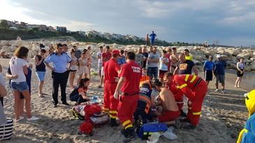 Tragedie pe litoralul romanesc! O persona de 40 de ani s-a inecat pe plaja Modern din Constanta!