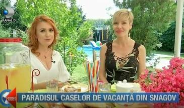 Casa de vedeta va prezinta paradisul caselor de vacanta din zona lacului Snagov. Si-a construit un loc special pentru rugaciune
