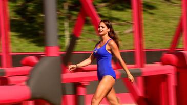 Exatlon 14 septembrie. Ea este noua concurenta de la Razboinici! Diana Sentes i-a cucerit pe coechipieri din prima