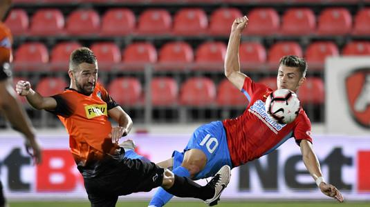 VIDEO | FCSB - Dunărea Călăraşi 2-0. Vicecampioana câştigă fără emoţii şi revine pe primul loc