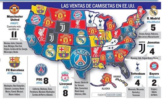 Foto Spectaculos Asa Arată Harta Fotbalului In Sua Cum Se