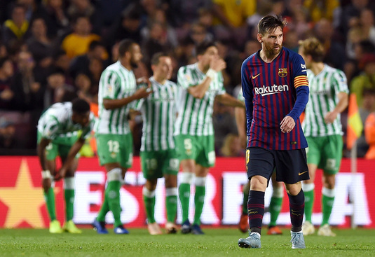 VIDEO | Barcelona - Betis 3-4. Nebunie de meci pe Camp Nou, la revenirea lui Leo Messi după accidentare