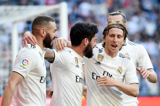 "VIDEO | Real Madrid - Celta Vigo 2-0. Zidane revine cu o victorie! Isco şi Bale au dat ""restart"" Madridului"