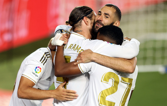 LIVE VIDEO | Athletic Bilbao - Real Madrid, acum, în direct la Telekom Sport 1. Madrilenii marchează prin Sergio Ramos!
