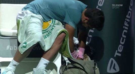 "VIDEO | Verdasco, prins în ""flagrant"" la Rotterdam. ""Îmi căutam vitaminele"" :)"