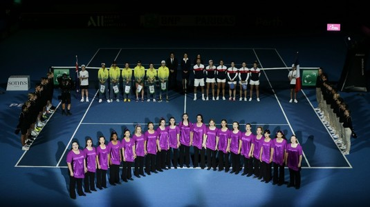 Grupele turneului final al FedCup