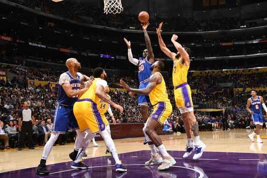 "VIDEO | Rezumate NBA. Los Angeles Lakers a şters parchetul din ""Staples Center"" cu New York Knicks. Cel mai bun marcator - LeBron James"