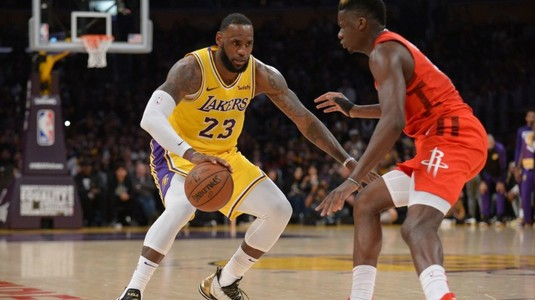 VIDEO | Rezumate NBA. LeBron James, eclipsat de Russell Westbrook, în victoria celor de la Houston Rockets cu Los Angeles Lakers