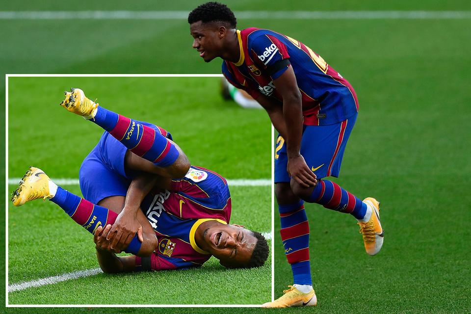 fotbal la genunchi