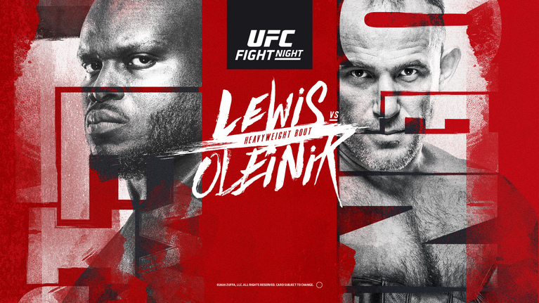 UFC Fight Night: LEWIS vs. OLEINIK e LIVE pe Look Plus, duminică, de la 04:00