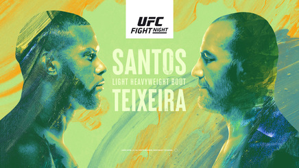 UFC Fight Night: Santos vs Teixeira, LIVE pe Look Sport 3 Motors&Fights, duminică, de la 05:00