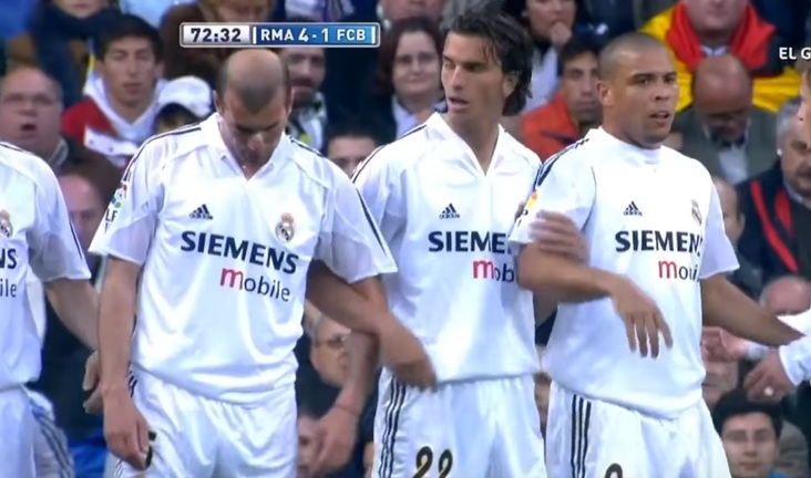 #MeciulZilei | VIDEO Real Madrid - Barcelona 4-2. Ronaldo vs Ronaldinho, Zidane vs Xavi
