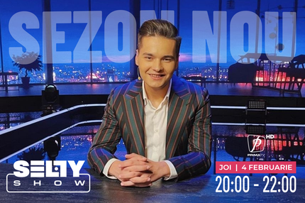 Din 4 februarie, ora 20.00,  Selly Show revine la Prima TV!