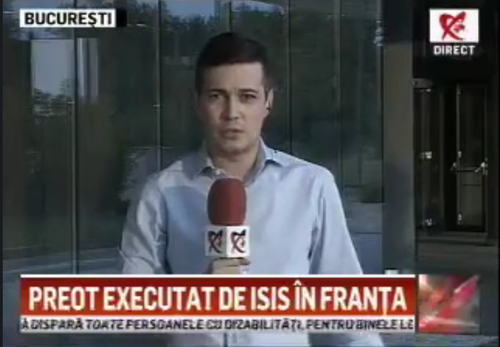 VIDEO. Moment hazliu în direct la Realitatea TV